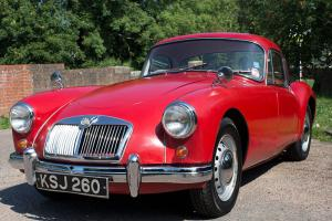 MGA Coupe 1500 MK1 1957  Photo