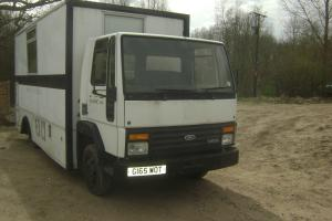 FORD CARGO 0811 7.5 TON CLASSIC TRUCK 18,000 KMs ONLY MOTORHOME CAMPER RACE VAN