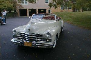 *** Beautiful Rare Cadillac Series 62 Convertible *** Completely Restored ***