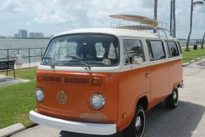 1974 VOLKSWAGEN BUS CALIFORNIA SURFER VAN UNRESTORED ORIGINAL CLEAN