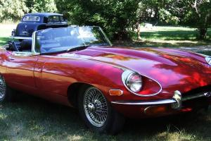 1969 JAGUAR XKE ROADSTER E TYPE 4.2 RARE FIND Photo