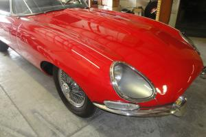 1967 Jaguar XKE Roadster, Series I, 4.2L, Covered headlamps
