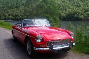 Immaculate 1970 MGB Roadster rebuilt on Heritage Shell