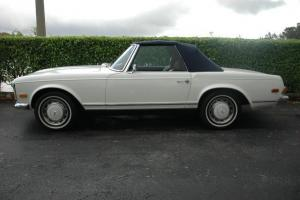 1971 Mercedes-Benz 280 SL. Last of the Pagodas.Both Tops.