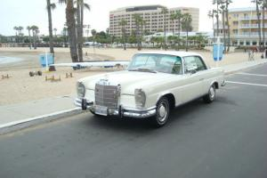 1966 MERCEDES BENZ 250 SE MANUAL EURO VERSION 2 OWNER CAR