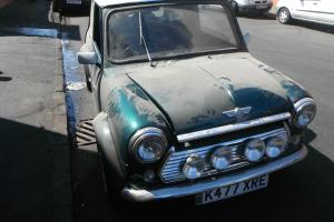 1992 ROVER MINI COOPER 1.3I GREEN/WHITE/no swap