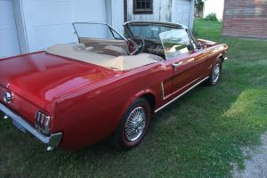 1964 1/2 MUSTANG Convertible Excellent Condition