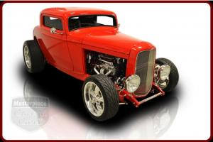 1931 Ford High Boy Chevy 350 350 Turbo Automatic Red