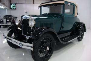 1928 FORD MODEL A SPORT COUPE, RUMBLE SEAT! ONE OF THE FINEST ANYWHERE!