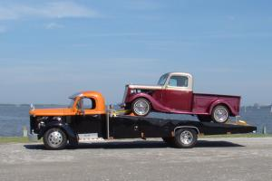 1958 WHITE Harley Davidson Ed. tow truck, wrecker OR 1935 Ford Hot Rod Pickup