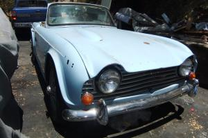 Triumph TR4A irs  Photo
