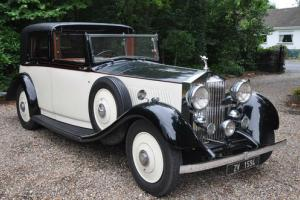 1935 Rolls Royce 20/25 Barker Sedanca.  Photo