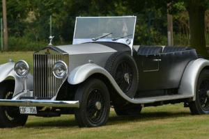 1935 Rolls Royce 20/25 open sports.  Photo