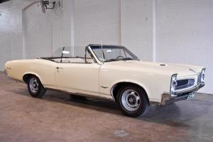 1966 Pontiac GTO Convertible 389 TRI Power Auto AIR Steer Muscle CAR Cruiser in Sydney, NSW