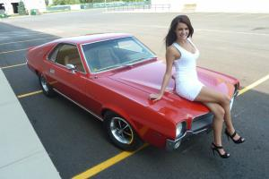 1969 AMC AMX With Go Pac 343 CID 4 Spd Loaded -- One Super Nice Car!!!