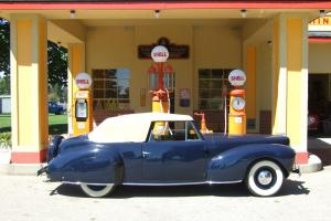 1940 Lincoln Continental Convertible Cabriolet - Full Classic
