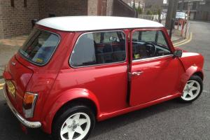 1992 ROVER MINI MAYFAIR AUTO RED 27k miles only  Photo
