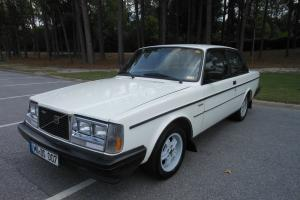 1984 Volvo 242 GLT Turbo Coupe Original White Photo