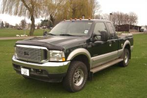 AMERICAN FORD F250 LARIAT 2002 DIESEL PICK-UP 4X4 FIFTH WHEEL