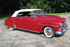 1951 Plymouth Cranbrook Convertible Photo