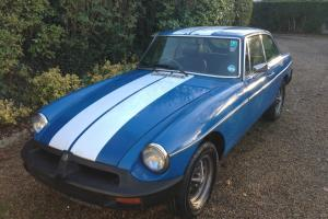1975 MGB GT BLUE  Photo