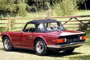 Triumph TR6 classic sports car  Photo