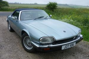 1992 JAGUAR XJS V12 CONVERTIBLE AUTO  Photo