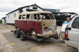 1965 RHD VW Split Screen Bus Camper, very good complete project, reluctant sale