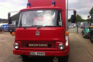 BEDFORD TK FIRE TRUCK 1980 .40,000M GENUINE,VERY VERY GOOD CONDITION