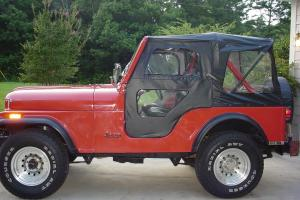 1982 JEEP CJ5 RESTORED FRONT TO REAR ENG AND TRANS VERY NICE JEEP,LOT OF EXTRAS