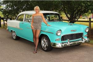 1955 Chevy Bel Air 427 700R Trans PDB PS Tilt Wheel SEE VIDEO
