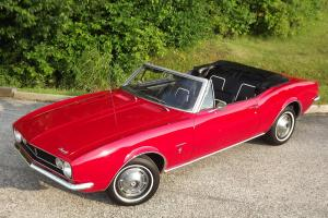 ONE LADY OWNER, RARE, ORIGINAL, SURVIVOR, RED CONVERTIBLE