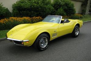 1969 Corvette Convertible, Top Flight Car