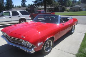 NO RESERVE!!..very rare 1968 true ss chevelle convertible, 396-4spd-12bolt posi-