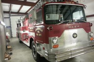 1979 Mack Ladder Fire Truck. Photo