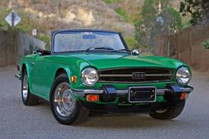 1976 Triumph TR6 Roadster - 49,000 Original MIles, One Owner Original TR6
