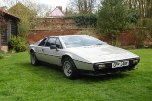 1980 LOTUS ESPRIT S2 RESTORATION PROJECT