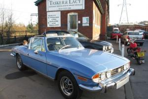 1974 Triumph Stag 3.0 V8 French Blue Manual Overdrive  Photo