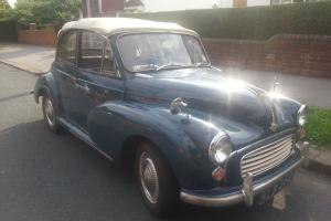 Morris Minor Tourer Trafalgar Blue 1966