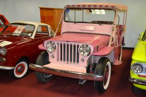 *Burn Notice* 1956 - Willys Beach Jeep (Pink, used on set of TV show Burn Notic)