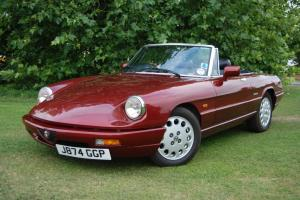 Alfa Romeo Spider S4, RHD, History from new, VLM, Factory Hardtop, Stunning Car