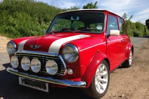 2000 ROVER MINI COOPER RED