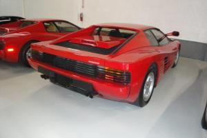 1986 Ferrari Testarossa Base Coupe 2-Door 4.9L