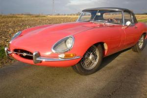1962 Jaguar E type 3.8 Series I Roadster