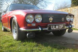 Red Jensen INTERCEPTOR Mk.I Standard Car 6276cc Petrol