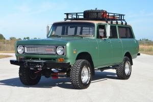 1974 International Travelall, 4x4,Frame off Restored,AC,pwr brakes/steering,