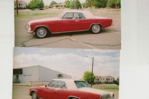 1962 Studebaker GT Hawk, 289CI W4 Brl carb, 3 spd auto w/od, air, ps 62000 miles