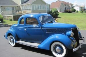 1936 Ford 5 Window Cp