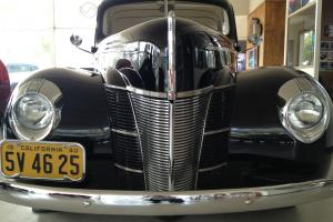 1940 Ford Deluxe Coupe Black 350 V8 Top 100 Hot Rod by Rod and Custom