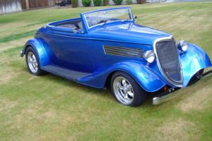 1934 Ford Cabrolet Roadster Convertible 350 348HP 350 Trans Boyds Disc Brakes